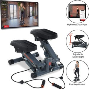 Women's Health Men's Health Bluetooth Cardio Stair Stepper