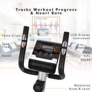 Bestlucky Elliptical Trainer LCD Display