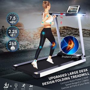 Fannay Foldable Electric Home Treadmill