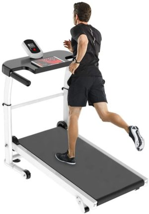 Sentuca Home 440 lbs Mechanical Folding Manual Treadmill