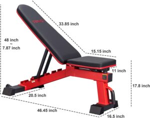 DERACY Ajustable Bench