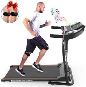 Famistar 1.5HP Folding Treadmill Running Machine