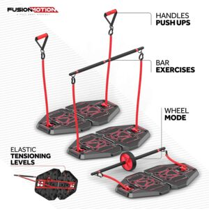 Fusion Motion Portable Gym with Resistance Bands