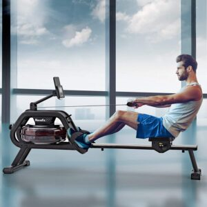 HouseFit Water Rower Rowing Machine
