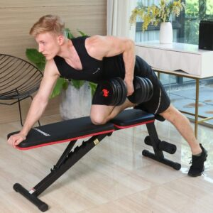 Komsurf Adjustable Foldable Weight Bench