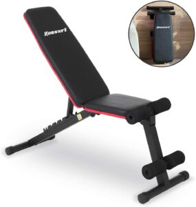 Komsurf Adjustable Weight Bench Press