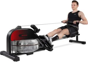 merax water rower rowing machine