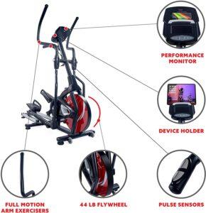 Sunny Health & Fitness SF-E3865 Magnetic Elliptical