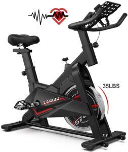 labodi exercise bike 35 lb flywheel
