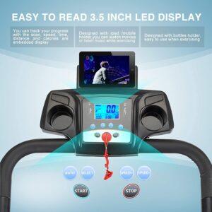 Fitnessclub Smart 2HP Electric Treadmill