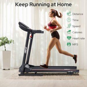 Ober Electric Folding Treadmill
