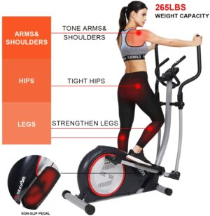 SNODE E20i Magnetic Elliptical Machine Trainer