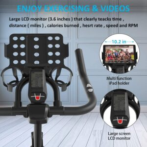 BTFING Indoor Exercise Spin Bike Display Panel
