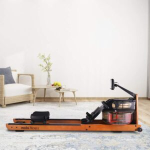 MOBI FITNESS Rowing Machine for Home Use