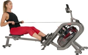 Sunny Health & Fitness Phantom Hydro Water Rower