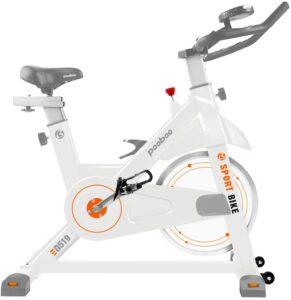 pooboo X1 D519 Exercise Bike, Belt Drive