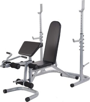 BalanceFrom RS 60 Multifunctional Station Bench Rack