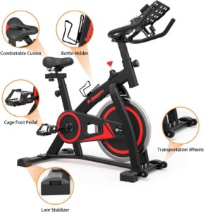 De.Pommeyeux Exercise Spin Bike