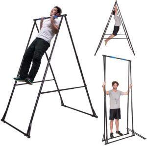 KT Toes Don't Touch Ground Foldable Free Standing Pull Up Bar Stand