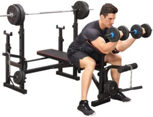 Dengken Olympic Weightlifting Bench
