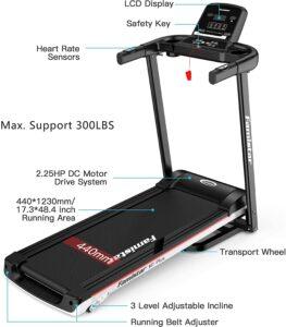 Famistar Incline Adjustable M7PLus Treadmill