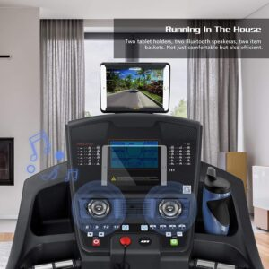 OMA 5923CAI Treadmill with Incline LCD Display