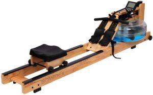 BOWDEX Natural Ash Wood Rowing Machine