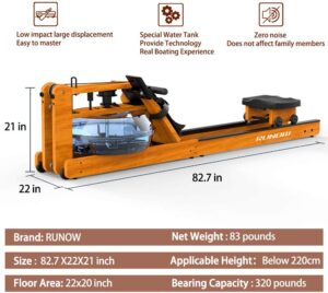 RUNOW Water Rower