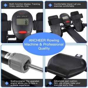 ANCHEER Hydraulic Rower