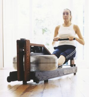 WaterRower Club Rowing Machine in Ash Wood