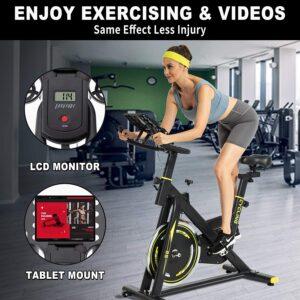 BINHIA S8 Indoor Exercise Bike Stationary LCD