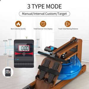 ZJL FITNESS Gymost Rowing Machine