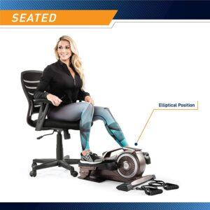 Bionic Body Magnetic Tension Under-Desk Elliptical Trainer
