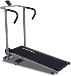 MaxKare Manual Walking Running Treadmill