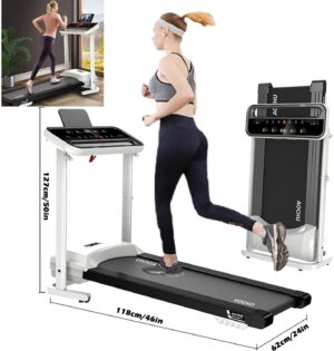 YANTI Folding Treadmill Bluetooth 300lb.