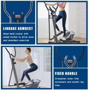 fdw elliptical trainer machine