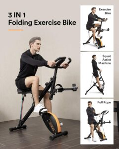 urevo 3-in-1 Exercise Bike