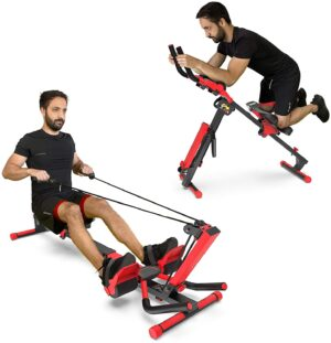 Murtisol 3 in1 Foldable AB Rower