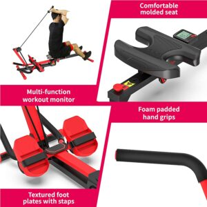 Murtisol 3 in1 Foldable AB Rowing Machine