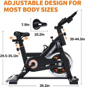 SND Magnetic Resistance Bike Dimensions