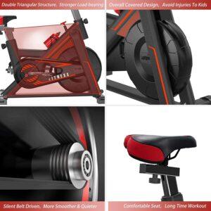 VIEWALL Indoor Exercise Bike belt drive
