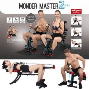 MBB 22 in 1 Wonder Master Core Ab Workout