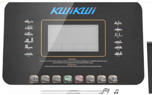 KWIKWI 550W Folding Electric Treadmill Display Panel