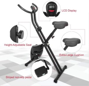 Uten Folding Magnetic Exercise Bike