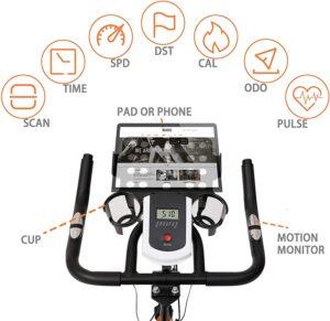 FOTHEAPEX Indoor Exercise Bike LCD Display