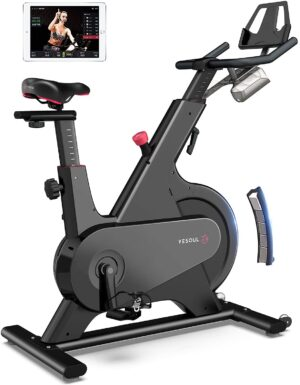 YESOUL M1 Stationary Spin Exercise Bike with Coach Live Smart App