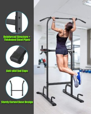 Ouyu 4 Level Adjustable Power Tower