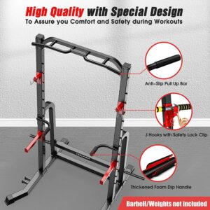 CDCASA Power Squat Rack Cage Power Cage