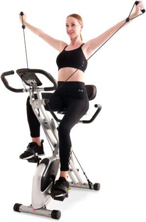Davcreator Foldable Fitness Reumbent Exercise Bike