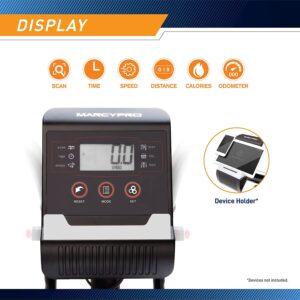 Marcypro JX-7301 Dual Action Cross Training Recumbent Bike LCD Display